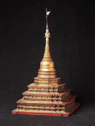 Large antique Burmese stupa