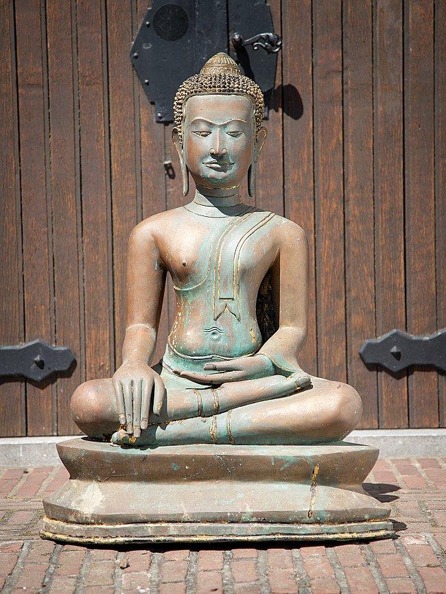 Alte Thailand Buddha Figur