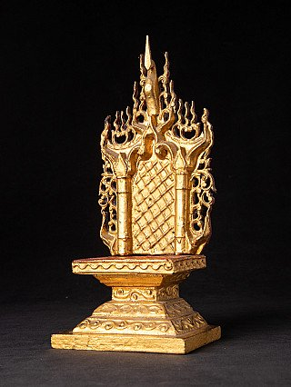 Antique Burmese throne