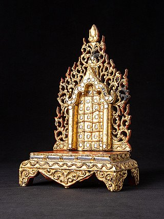 Antique Burmese shrine