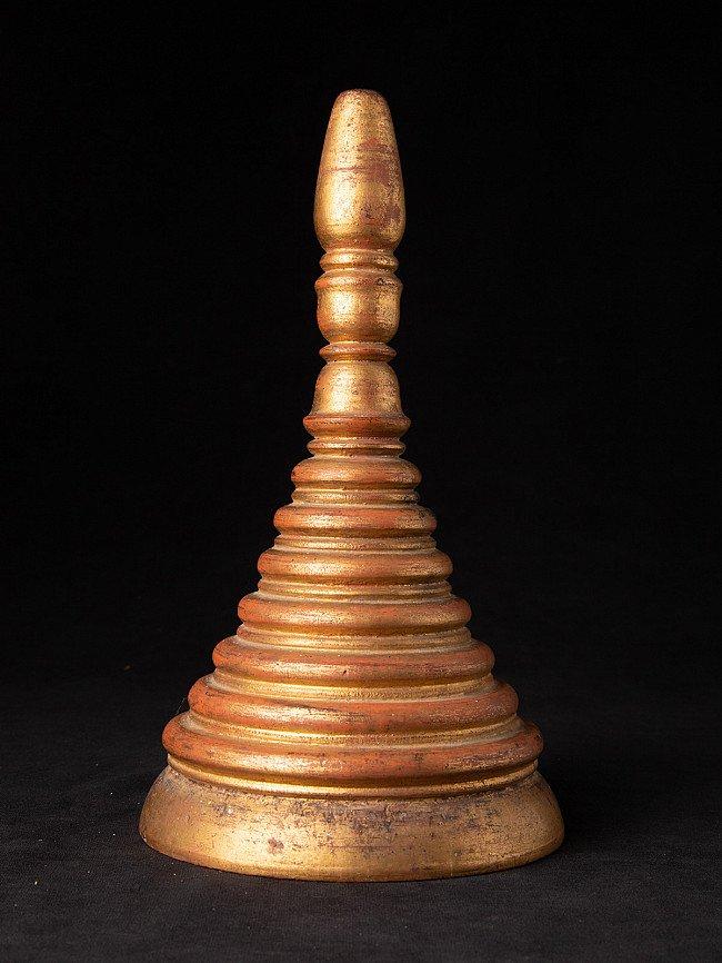 Antique wooden Burmese Pagoda