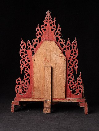 Antique wooden Throne