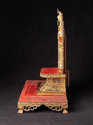 Antique wooden Burmese Throne