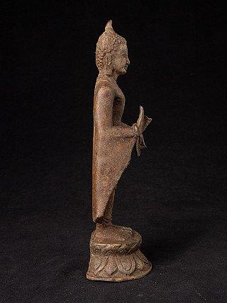 Alte bronze Bagan Buddhafigur