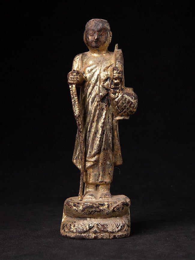 Alte Birmanische Mönch Figur