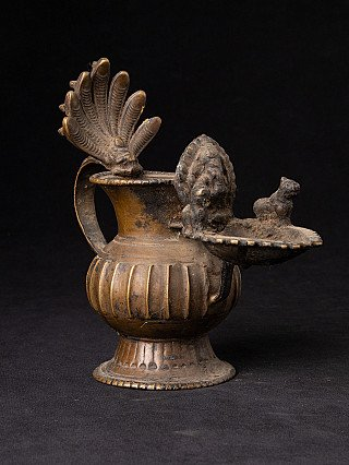 Antique Nepali Oil Lamp - Sukunda