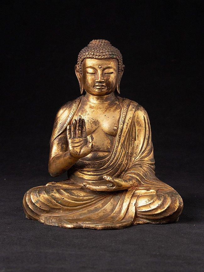 Old Japanese Amida Buddha statue