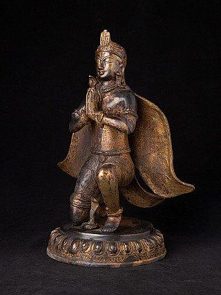 Old bronze Garuda statue