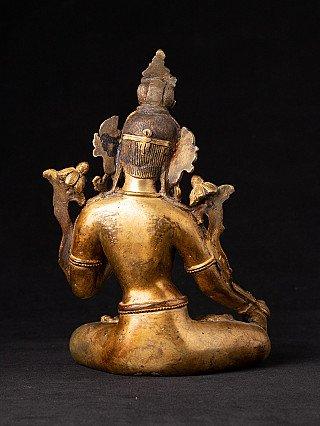 Old bronze White Tara statue