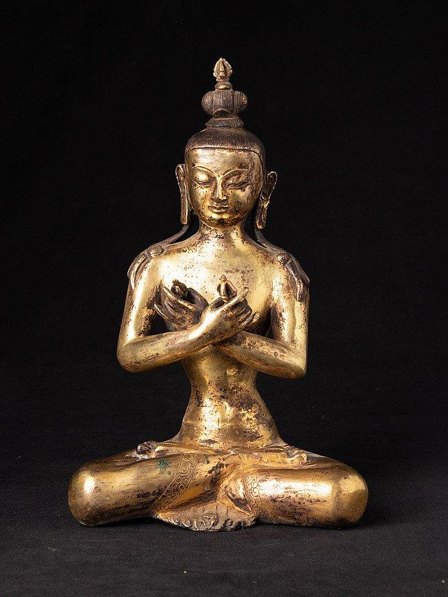 Antique Nepali Vajradhara Buddha statue