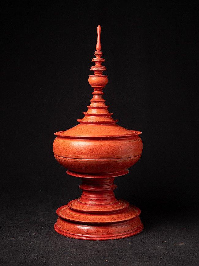 Antique Burmese Shan offering vessel
