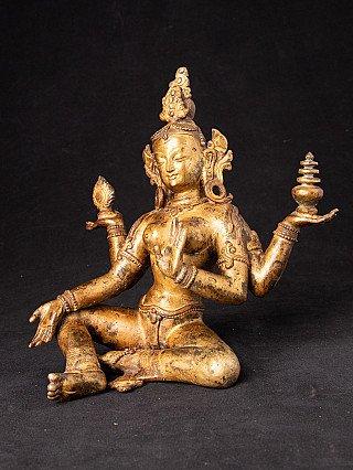 Alte bronze Laxmi Figur