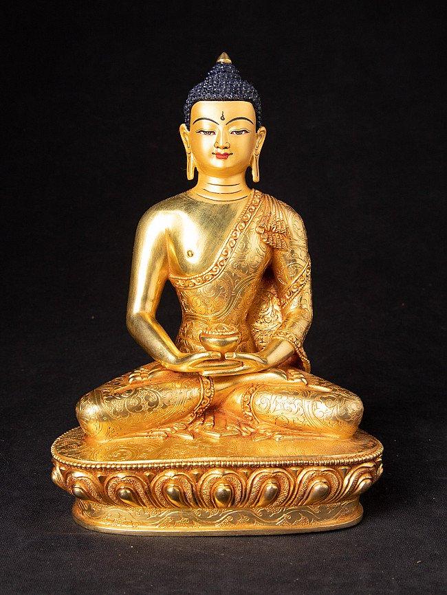 High quality Nepali gold-face Buddha statue