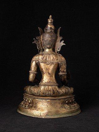 Antique Nepali Medicine Buddha statue