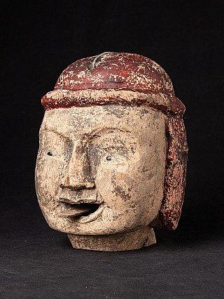 Old head of Burmese Puppet