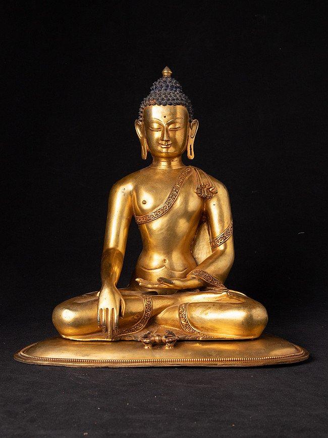Höhe Qualitäts Bronze Nepal Buddha Figur