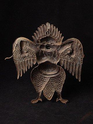Copper Repousse Garuda bird