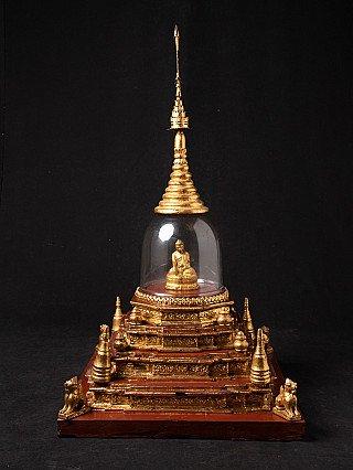 Antique Burmese stupa