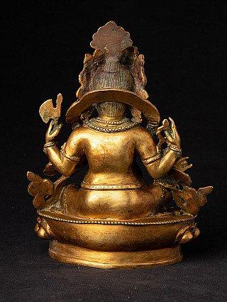 Alte bronze Ganesha Figur