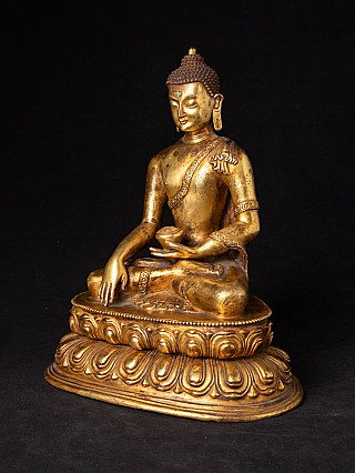 Old Buddha statue from Nepal