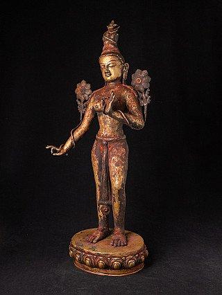 Antiek bronzen Tara beeld