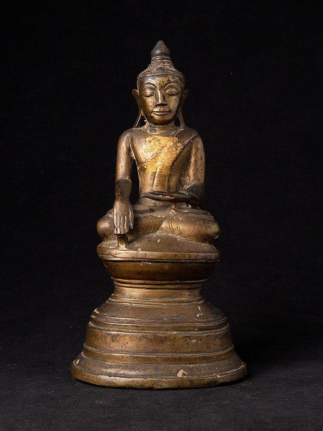 Antique Burmese Ava Buddha statue