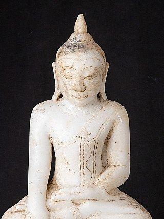17e eeuws marmeren Boeddhabeeld