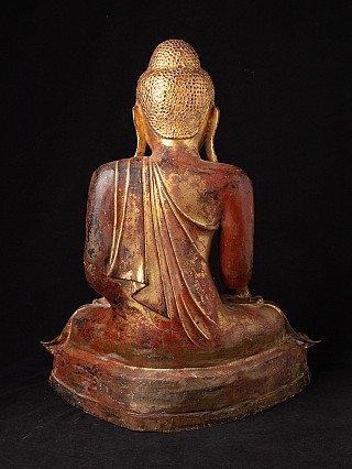 Speciale bronzen Mandalay Boeddha