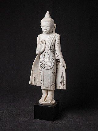 Oude marmeren Birmese Boeddha