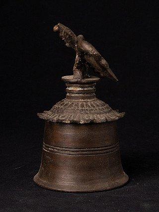 Antique bronze Burmese bell
