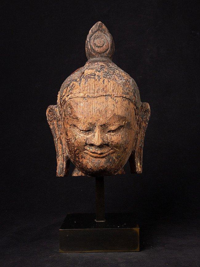 Original Bagan-period Buddha head
