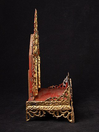 Old Burmese throne