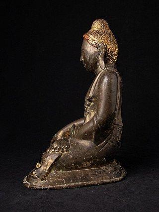 Antike bronze Mandalay Buddha Figur