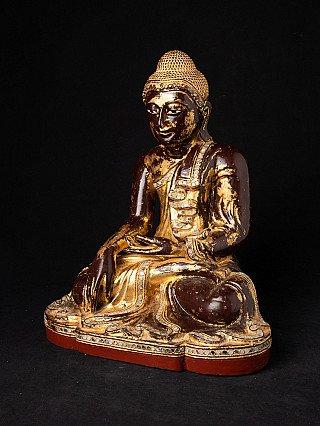 Antiek Mandalay Boeddhabeeld