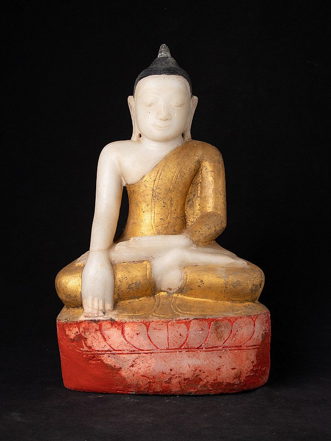 Antique marble Burma Buddha