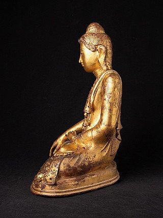 Very special antique bronze Mandalay Buddha
