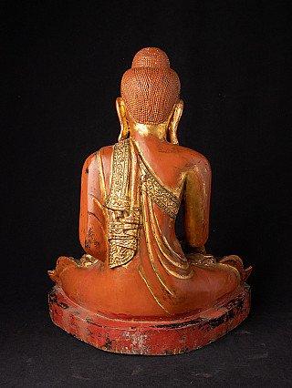 Zeer hoge kwaliteit antieke Mandalay Boeddha