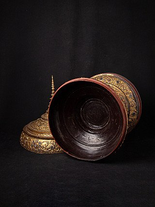 Antique Burmese offering vessel