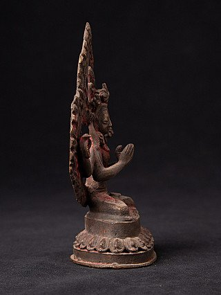 Antique Nepali Chenrezig statue