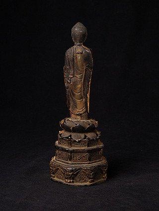Antike bronze Japan Buddha Figur