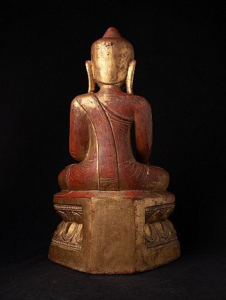 Antique Burmese Buddha statue