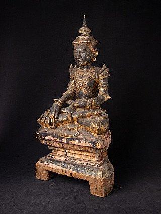 18e eeuwse houten Shan Boeddha
