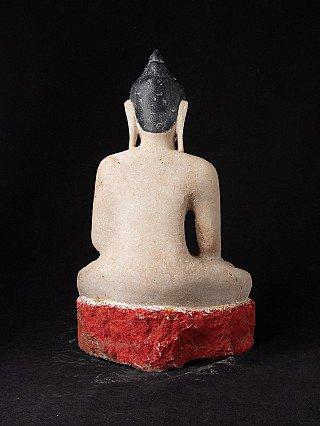 Antieke marmeren Ava Boeddha