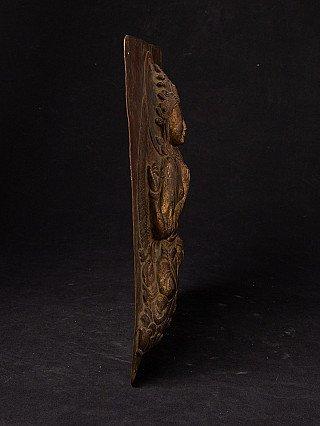 Antique copper Bodhisattva statue
