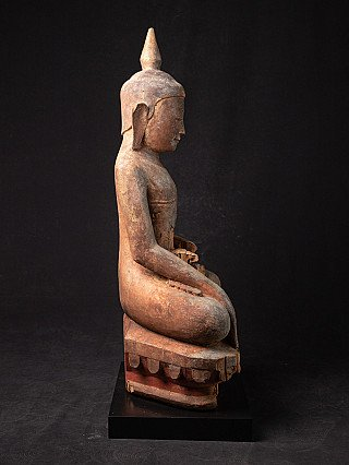 Early antique Burmese Ava Buddha statue