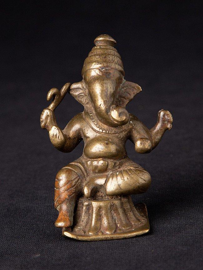 Antique bronze Indian Ganesha statue