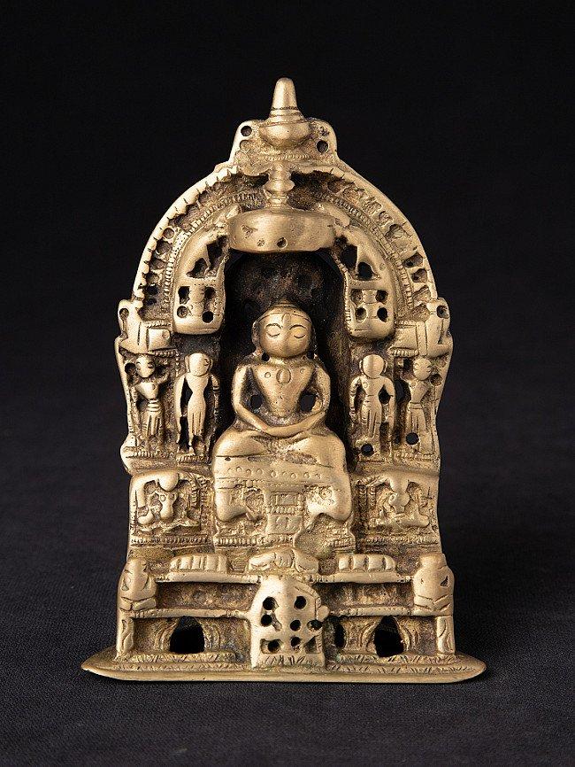 Antique bronze Jain temple