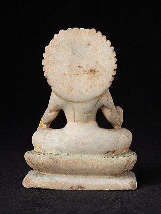 Antique marble Laxmi statue