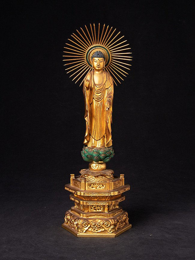 Old Japanese Buddha statue