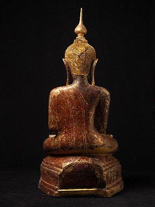 Grote antieke Birmese Boeddha